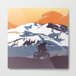 Night Mountains No. 63 Metal Print