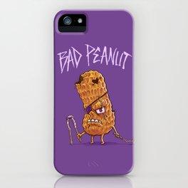 Bad Peanut iPhone Case