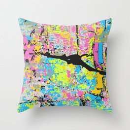Density Throw Pillow