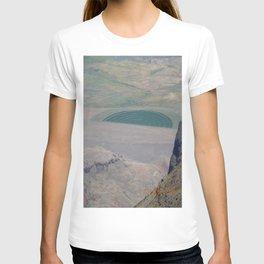 Partial crop circle, farming, road trip T-shirt