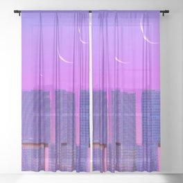 Skin of the Night Sheer Curtain