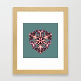 Meat triangle Framed Art Print