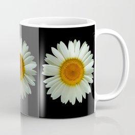 Three Pop Art Daisies Coffee Mug