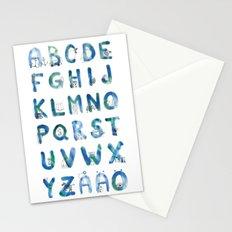 ABC Alphabet Stationery Cards