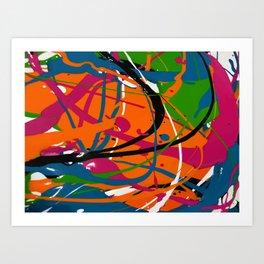 Wet Paint no. 04 Art Print