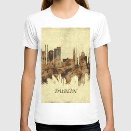 Dublin Republic of Ireland Cityscape T-shirt