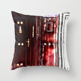 Don't Ty It 'til You've Knocked It Throw Pillow