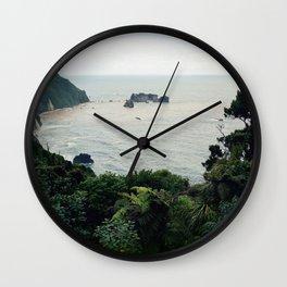 New Zealand Coast Wall Clock