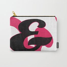 Creampuff Ampersand Carry-All Pouch