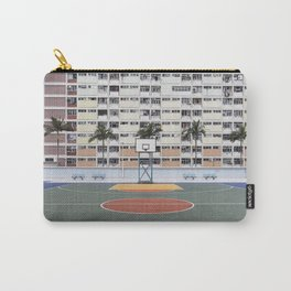 Basketball Court Carry-All Pouch