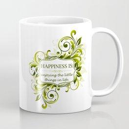 Abstract Floral 21 Coffee Mug