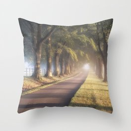 To The Manor Throw Pillow