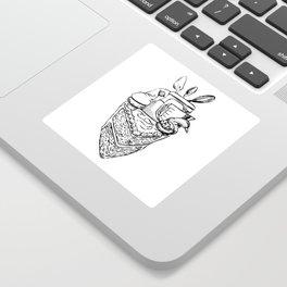 The Heart of a Baker Sticker