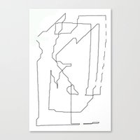 maps Canvas Prints featuring Maps  by short stories gallery