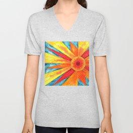 Summer Sunburst Unisex V-Neck