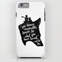 The Prince and the Fox iPhone Case