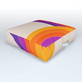Bounce - Rainbow Outdoor Floor Cushion