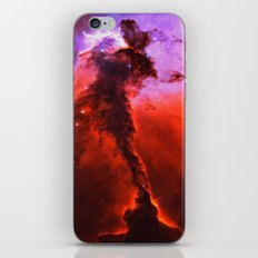 Red Nebula iPhone & iPod Skin