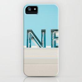 Diner fluo iPhone Case