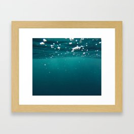 Underwater Framed Art Print