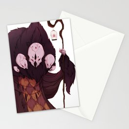 Real Monsters- OCD Stationery Cards