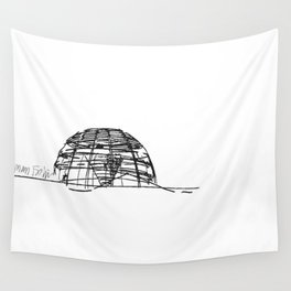 Reichstag Dome, Foster + Partners Wall Tapestry