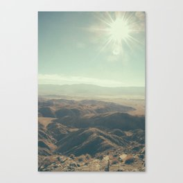 Until we meet again in the unknown Canvas Print