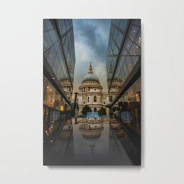 Landmark City (Color) Metal Print
