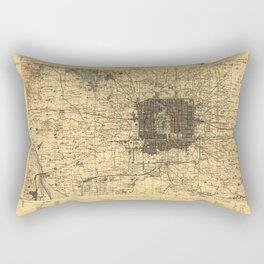Beijing 1926 Rectangular Pillow