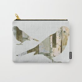 Reclaimed Wood Birds Carry-All Pouch