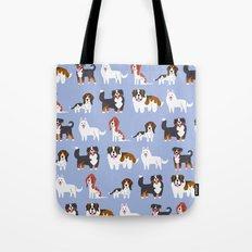 SWISS DOGS Tote Bag