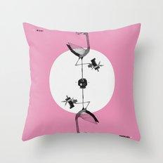 Miami (Skull) Machine Throw Pillow