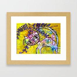 Pussycat 2  Framed Art Print
