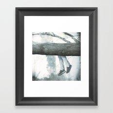 Hang on Framed Art Print