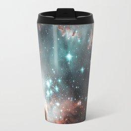 Nebula and stars Travel Mug