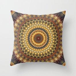 Mandala 380 Throw Pillow