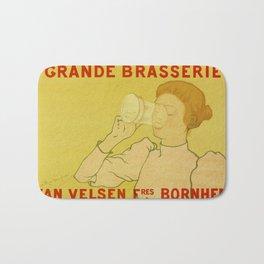 Van Velsen Belgian beer Bath Mat