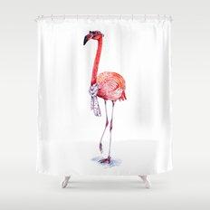 Fashionable  Pink Flamingo Shower Curtain