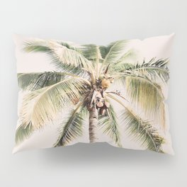 Tropical Palm Tree Pillow Sham