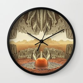 Scene From Time Wall Clock