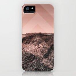 Tales of Wonder, Chevron Pattern, Sand Dunes iPhone Case