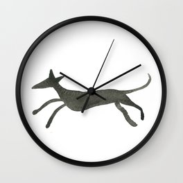 Longdog Silhouette Wall Clock