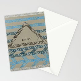 FAMILY ELM THE PERSON Stationery Cards