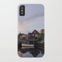 Peggy's Cove Nova Scotia iPhone Case