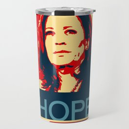 Kamala Harris Hope Travel Mug