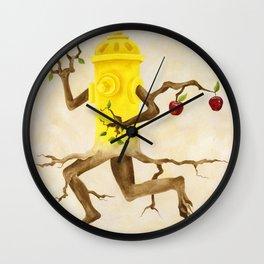 Hydrant of Life Wall Clock