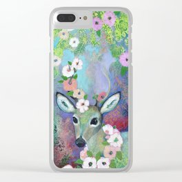 Forest Prince Clear iPhone Case
