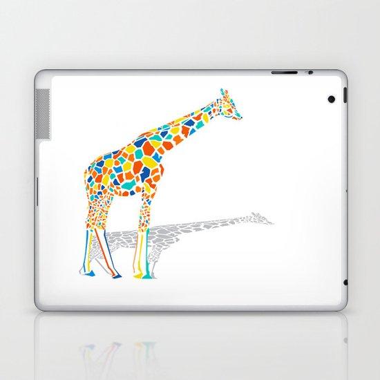 Technicolor Giraffe Laptop & iPad Skin