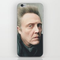christopher walken iPhone & iPod Skins featuring Walken by AXLWD