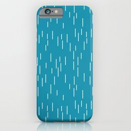 the rain is coming  iPhone Case